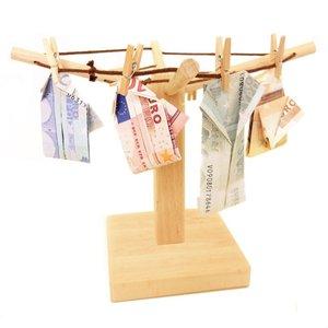 Lustige Geldgeschenke - Geldspinne