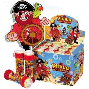 Mitgebsel Kindergeburtstag für Jungs Seifenblasen Piraten