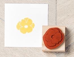 Stampin Up Stempel aus Holz