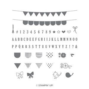 Stempelset pick a pennant