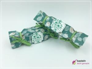 Bonbon Verpackung basteln