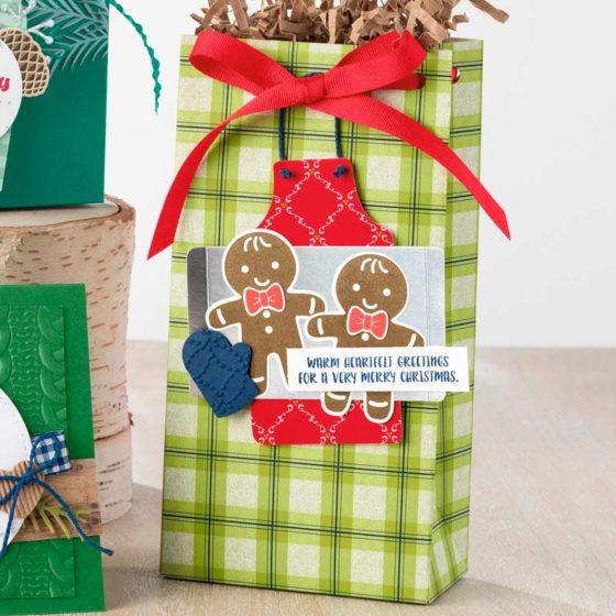 weihnachtlich ausgestochen und lebkuchenmännchen stanze