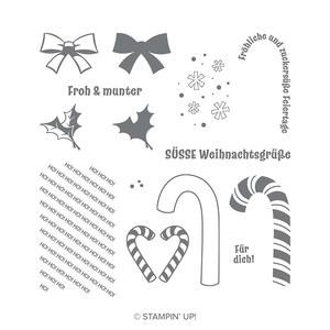 Stempelset zuckersüsse Weihnachten von Stampin Up