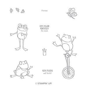 Froschkönig Stempelset - kostenlos in der sale a bration