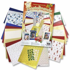 Bastelset Weihnachtskarten basteln
