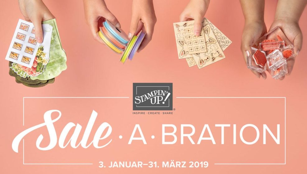 sale a bration 2019 von stampin up
