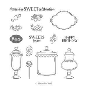 Stempelset sweetest thing von stampin up